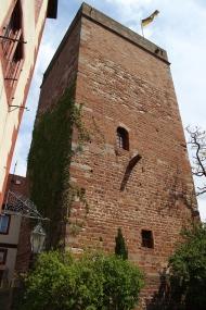Bergfried aus der Mitte des 12. Jhs.