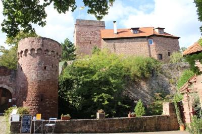 Burgauffahrt klein
