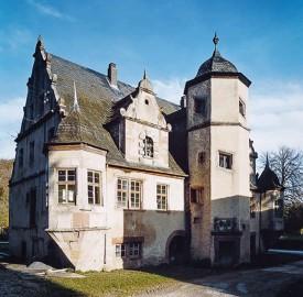 Burggeister Melusine Burg Burgpark Gamburg Ob Der Tauber