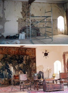 Rittersaal 2003 heute