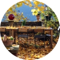 Café Herbst schmal kl rund